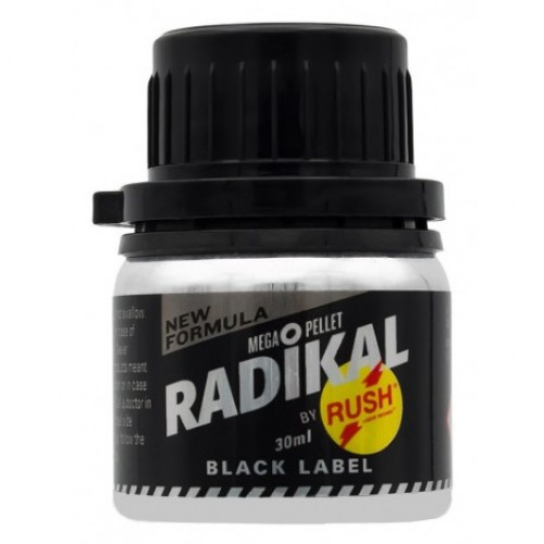 Попперс RADIKAL RUSH BLACK LABEL 30 ml
