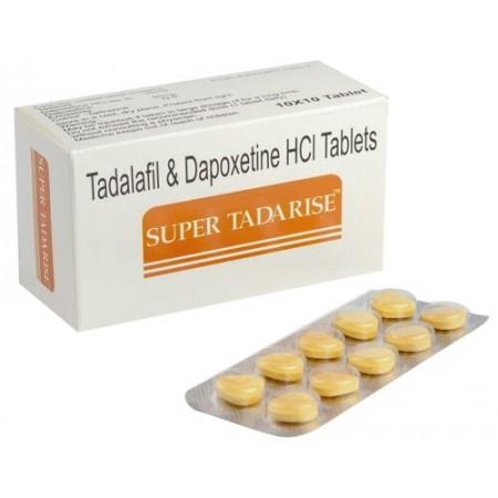 SUPER TADARISE СИАЛИС + ДАПОКСЕТИН 10 ТАБЛ