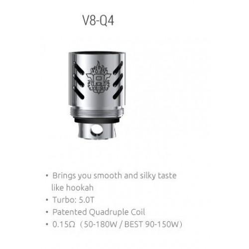 Испаритель SMOK TFV8 V8-Q4 Coil (5.0T) 0.15 Ом