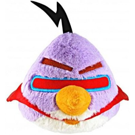 "Angry Birds 5"" Space Purple Bird Plush with sound"
