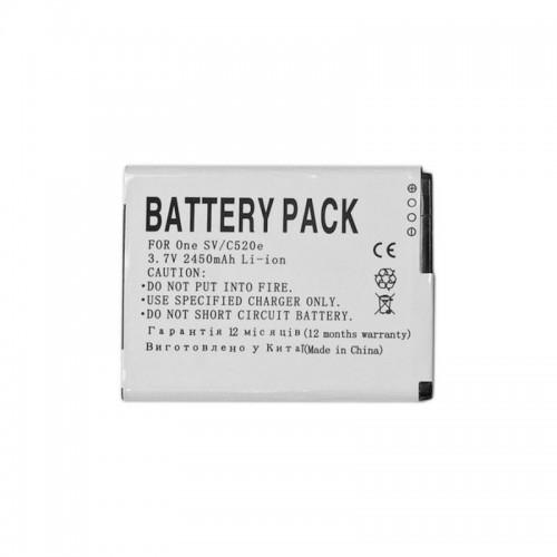 PowerPlant Аккумулятор для HTC T528W (2450mAh) - DV00DV6202