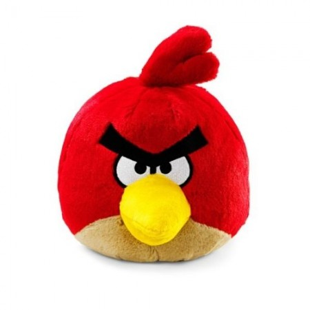 "Angry Birds 8"" Plush Red Bird with Sound"