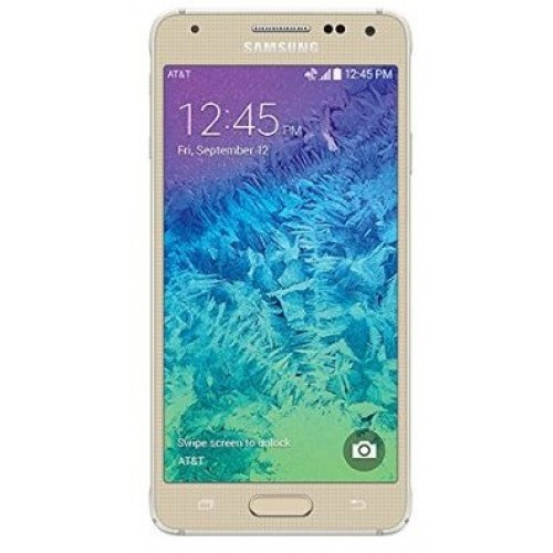 Samsung G850A Galaxy Alpha Frosted Gold