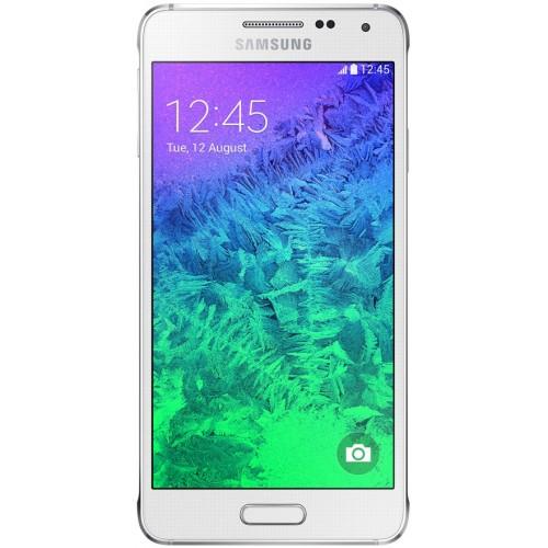 Samsung G850F Galaxy Alpha Dazzling White UA UCRF