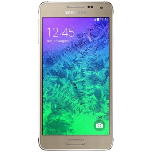 Samsung G850F Galaxy Alpha Frosted Gold UA UCRF
