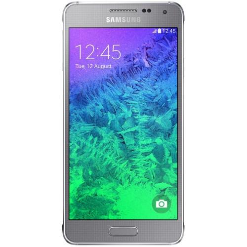 Samsung G850F Galaxy Alpha Sleek Silver UA UCRF