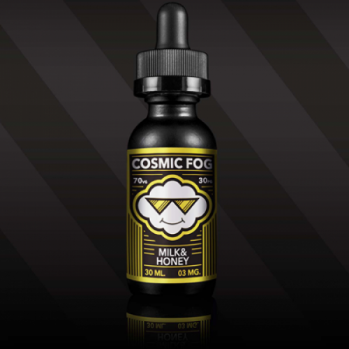 """Жидкость Cosmic Fog """"Milk&Honey"""" (Молоко и мёд) 15 мл."""