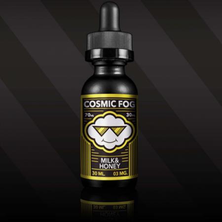 """Жидкость Cosmic Fog """"Milk&Honey"""" (Молоко и мёд) 30 мл."""