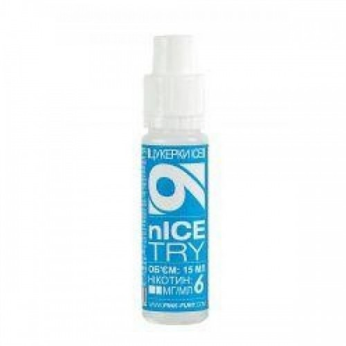 Жидкость для электронных сигарет Pink-Fury Жидкость ICE TRY Леденцы Ice 15 мл