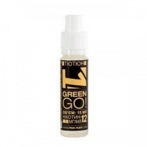 Жидкость для электронных сигарет Pink-Fury Жидкость GREEN GO Табак 15 мл