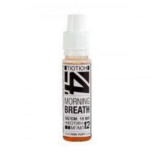 Жидкость для электронных сигарет Pink-Fury Жидкость MORNING BREATH Табак 15 мл
