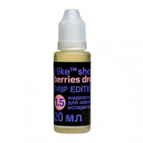 i like shot berries drop Drip Edition 20ml