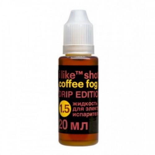 i like shot coffee fog Drip Edition 20ml