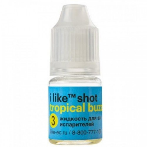 i like shot tropical buzz 5ml