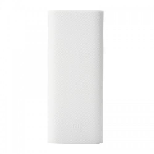 Чехол Силиконовый для Xiaomi Power bank 16000 mAh White ORIGINAL