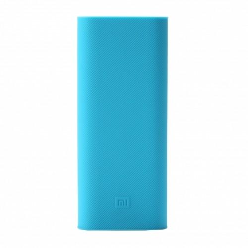 Чехол Силиконовый для Xiaomi Power bank 16000 mAh Blue ORIGINAL