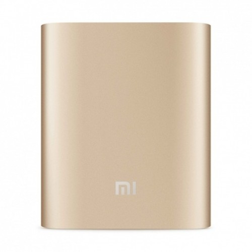 Универсальная батарея Xiaomi Power Bank 10400mAh (NDY-02-AD) Gold ORIGINAL