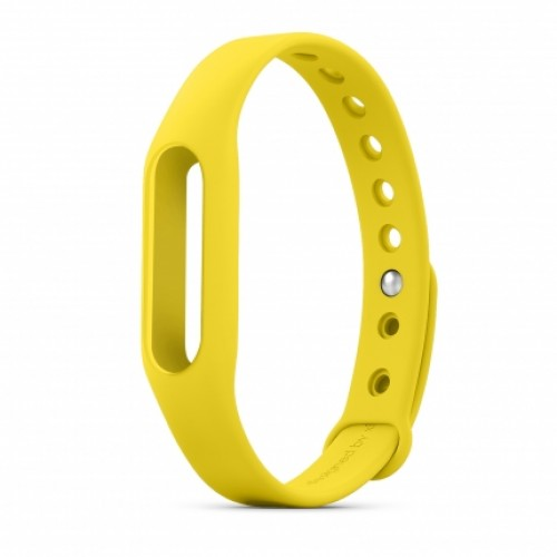 Xiaomi Ремешок для Фитнес-трекера Mi Band (Yellow) ORIGINAL