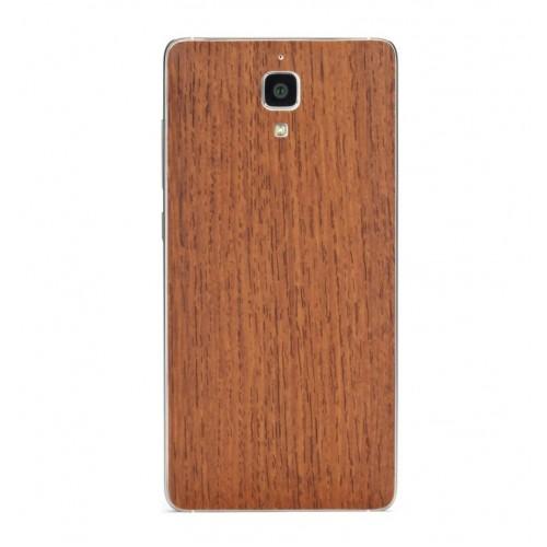 Виниловая наклейка обложка Original Back Cover For Xiaomi Mi4 (Wood Oak) ORIGINAL