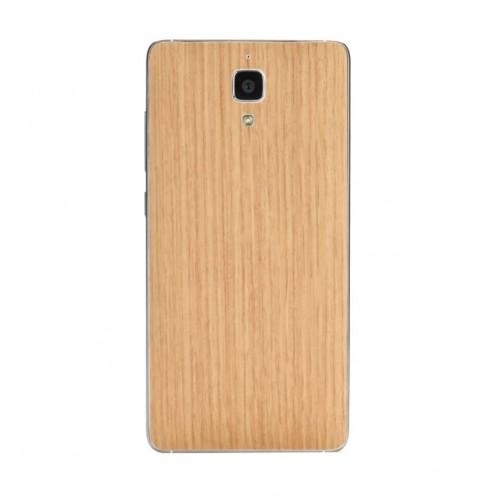 Виниловая наклейка обложка Original Back Cover For Xiaomi Mi4 (Wood Ash) ORIGINAL