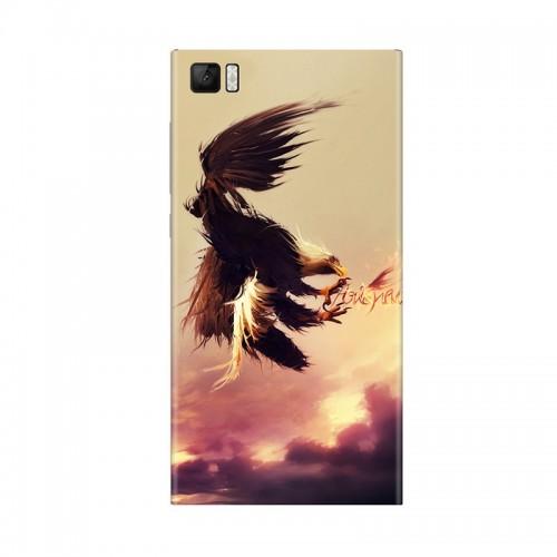 Виниловая наклейка Xiaomi Back Cover for Mi3 (Eagle) ORIGINAL