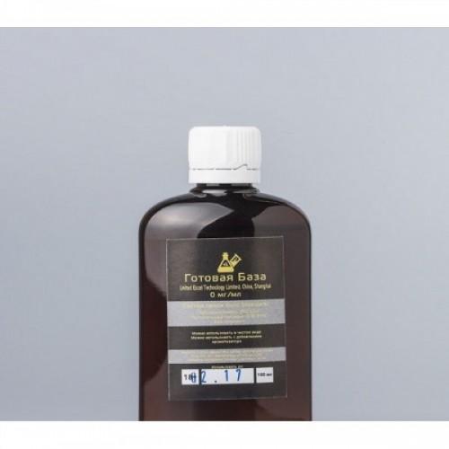 """База без никотина """"Gold Standart"""" (0 мг) - 100 мл"""