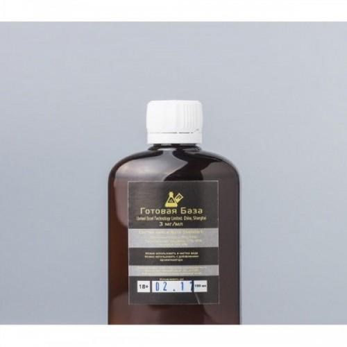 "Никотиновая база ""Gold Standart"" (3 мг) - 100 мл"