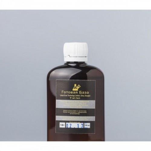 "Никотиновая база ""Gold Standart"" (9 мг) - 100 мл"