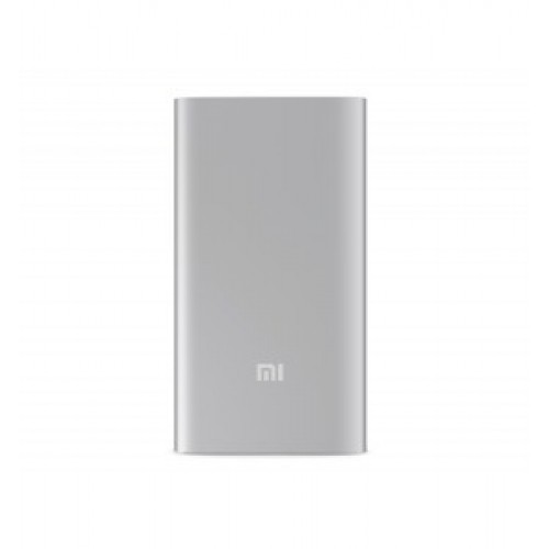 Универсальная батарея Xiaomi Power Bank 5000mAh (NDY-02-AM) Silver ORIGINAL